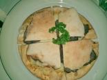 Panini Alla Napoli (Massa de Pizza na forma de Pão Sírio) - Roast Beef