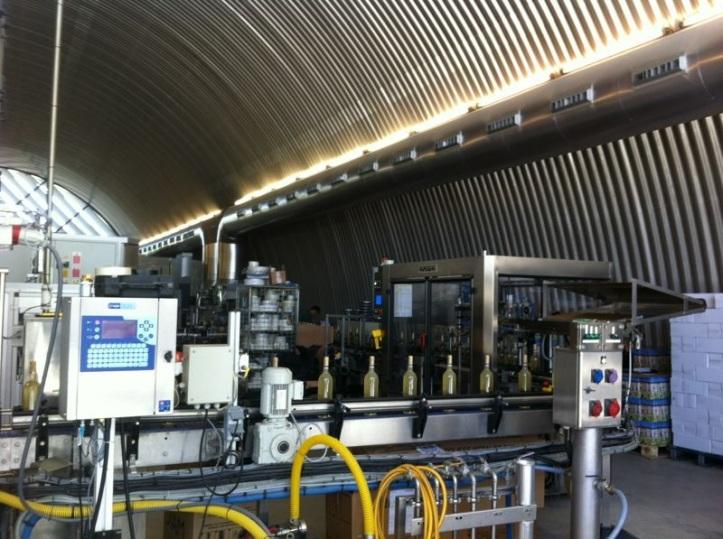 Mecanização na vinícola