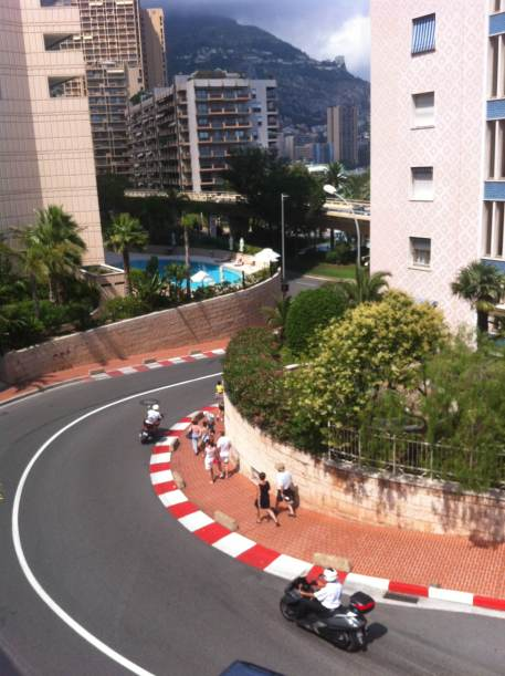 Rua do grand prix
