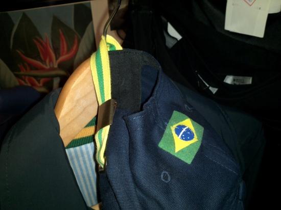 Boné time de pólo brasileiro Vicomte A. parte trazeira
