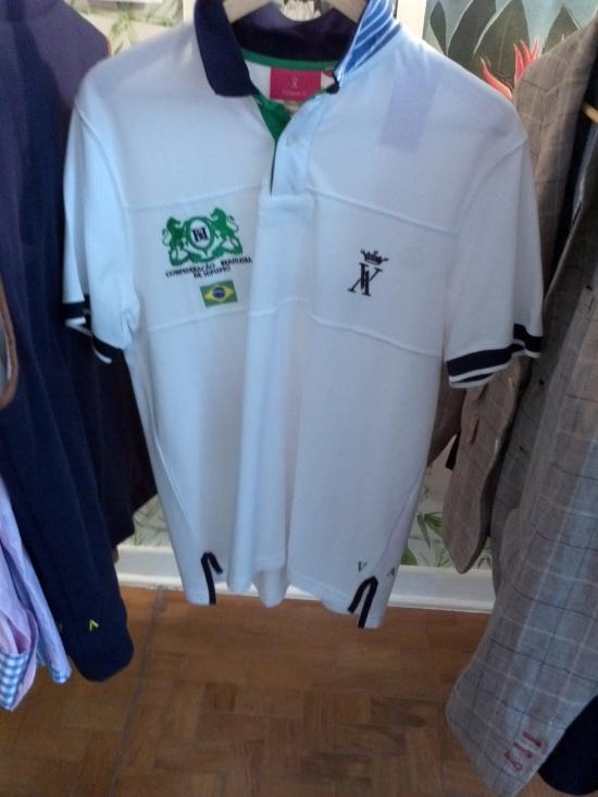 Camisa do time de pólo brasileiro