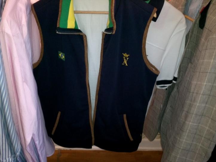 """""""Colete"""" do time de polo brasileiro"""