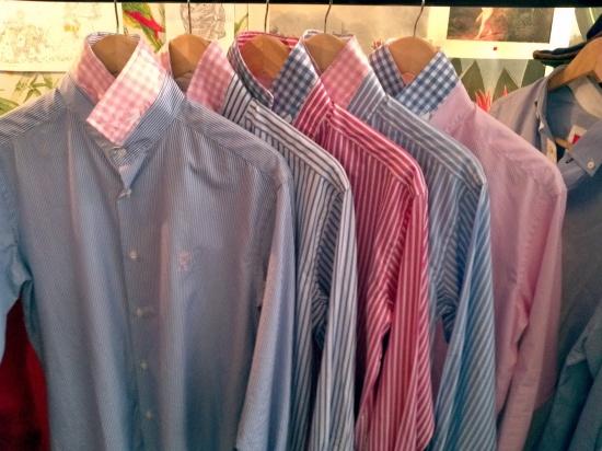 Algumas das camisas da Vicomte A.