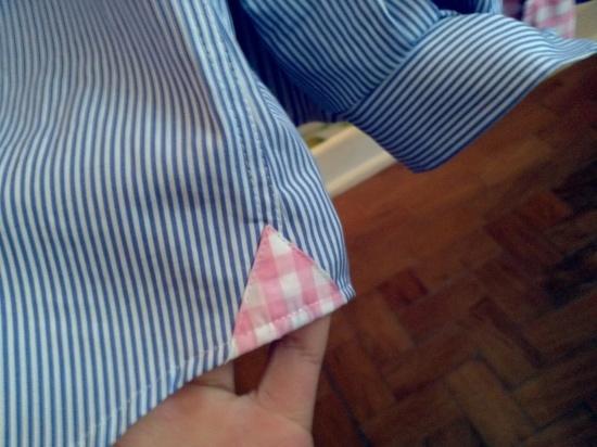 Detalhe das camisas da Vicomte A.