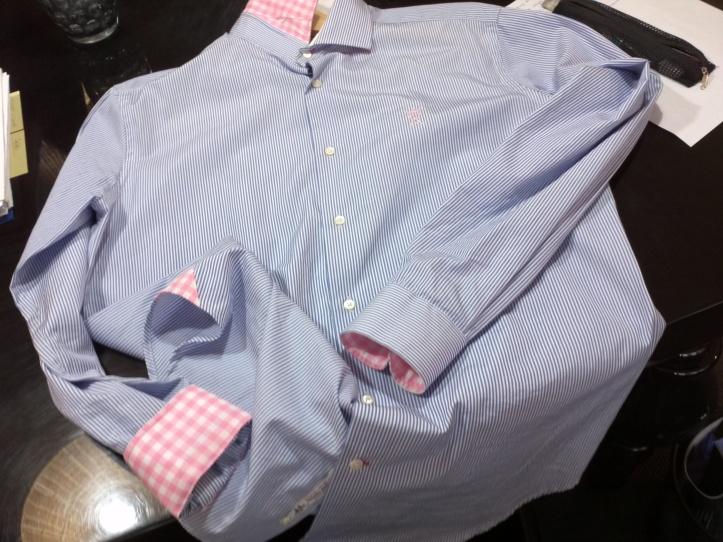 Visão geral sobre os detalhes das camisas