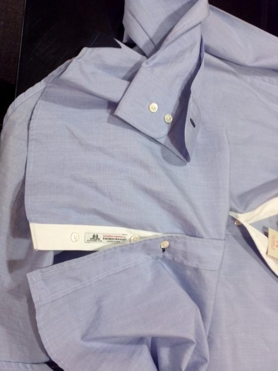 Parte inferior da camisa Crans Montana da Vicomte A.